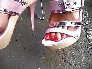 Mature Foot Worship Nails
