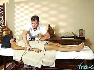 Massaged Asian Hottie