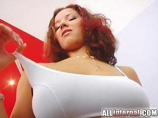 All Internal Teen With Natural Tits Sucks A Cock And Gets Creampie