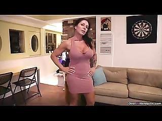 陰茎, フィットネス, 手淫, ぴくぴく動く, 成熟した, 熟女, ハメ撮り