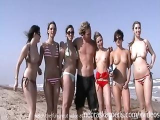 ビーチ, カレッジ, Exgf, 点滅, フロリダ, 見事, 純潔な, パブリック, スクール, スキニー, 若い