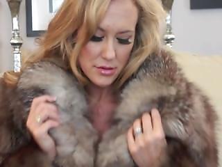 Fur coat sex video