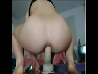 Anal, Anal Toy, Home, Homemade, Riding