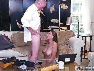 Teen Threesome Double Creampie Ivy Impresses With Her Hefty Breasts And