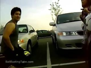 Amateur Ballbusting