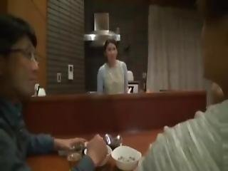 Japanese Friend Wife Fucked At Dinner Near Cuckold Husband Japanese Cheating Wife Japanese Wife Japanese Housewife Real Amateur Porn Real Voyeur