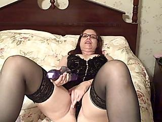 Redheaded Wife Loves Her Rabbit