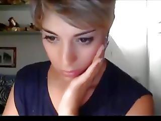 Very Beautiful Short Hair Girl