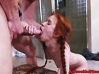 Tiny Teens Pussy Rough Pounded By Bigcock