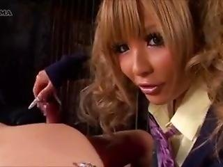 Tsubasa Long Nail Handjob Tease