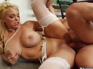 Charlee Chase Sucks And Fucks Her Student S Large Cock
