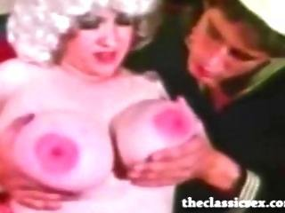 Busty Vintage Pornstar Fucks