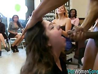 Horny Amateur Gets Cummed