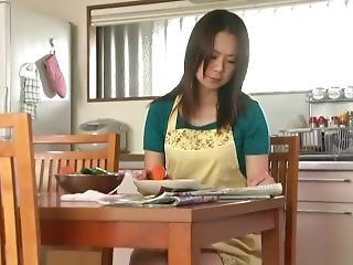 amatoriale, sporca, scopata, casa, giapponese, fica, moglie