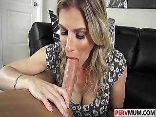 Son Nails His Nubile Stepma Cory Chase