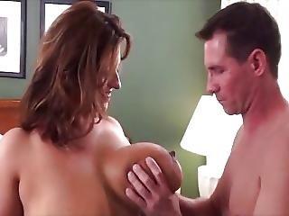 Her Big Natural Tits Make Him Crazy