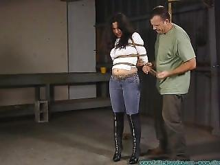 Jeans And Boots Hogtie Part 1