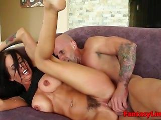 Brandy Aniston Banged By Her Personal Trainer In Hardcore Roleplay