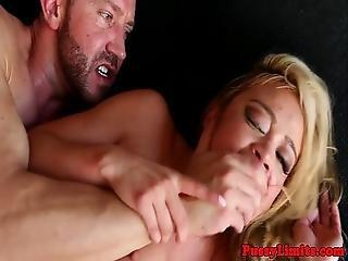 Busty Skank Fantasy Rough Fucked By Maledom