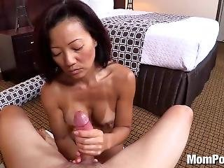 Fit Asian Milf With Hard Nipples And Great Abs 2