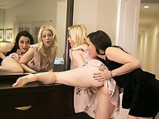 Lovely Charlotte Gets Pussy Licked By Georgia Jones