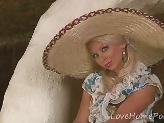 Lea Tyron - She Definitely Makes The Sombrero Trendy Again