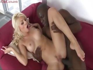 French Blonde Girl Beautiful Ass And Tits She Likes Bbc