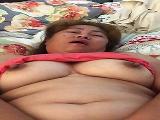 Mary Salazar Fucking And Sucking Her Dildo