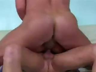 Bitch Handles Two Raging Thick Headed Cocks