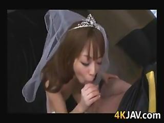 Asian Bride In A Gangbang
