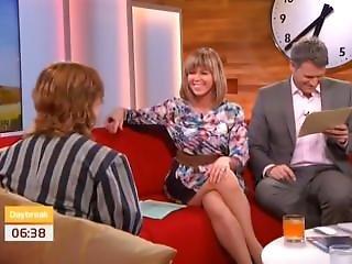 britisk, kjendis, ben, voksent, milf, sexy, skjørt, oppskjørt