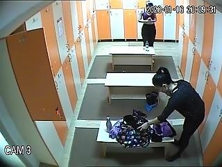 They Also Came To The Locker Room Of The Moldovan Woman