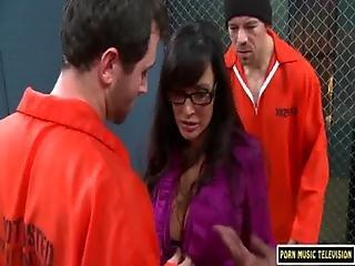 Big Tit, Cum, Interracial, Jail, Teacher