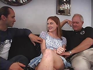 Teen Gangbanged By Older Men