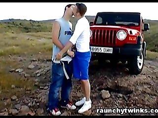 Mario And Alex Amazing Gay Outdoor Sexcapade
