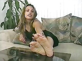 Candice Feet Soles