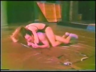 Old School Mixed Wrestling