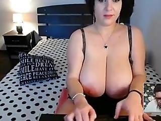 Handjob Huge Tits Mom