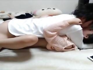 amateur, éjaculation, jeune fille chaude, japonaise, petits seins, solo, Ados