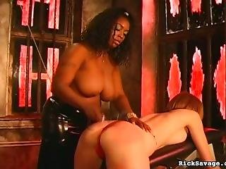 Mistress Ruby Diciplines Slave 71