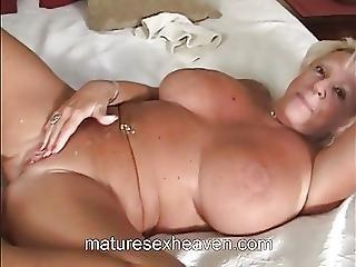 Granny Sucks Big White Cock