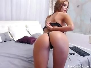 One Hot Diamond Shows Off Her Tits  - Part 2