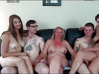 Milf Teaches Two Young Couples Sex