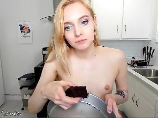 Scarlet Loveu - Cum In My Kitchen