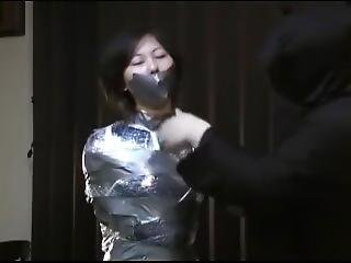 Asian Girl Bound Repeatedly