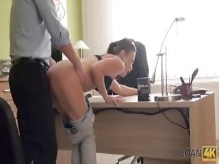 Loan4k Babe Pays With Sex To Get Necessary Credit And Buy A Bike