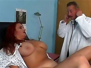 My God Jessica Had Some Gargantuan Gallon Sized Milk Jugs They Were Definitely Bigger Than Her Brain Because It Was Easy To Scam This Slut Into Stripping In Front Of The Camera And Letting The Doctor Fuck Her