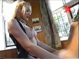 Teresa Scott Unleashed - Strap-on Fucking Blonde Slave