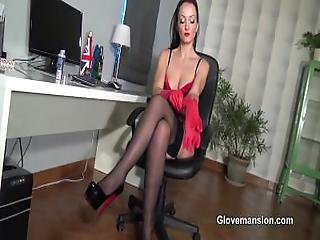 Cum_on_gifted_gloves