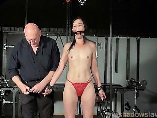 Restrained Milf Lolanis Amateur Bdsm And Tied Tit Tortures Of Suffering Sla